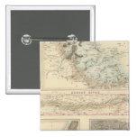Puertos y puertos septentrionales en los Estados U Pin Cuadrada 5 Cm