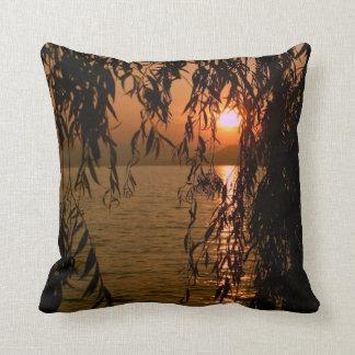 Puesta de sol almohada