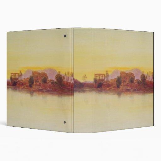 Puesta del sol, 1861 (el panel)