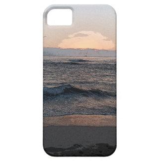 Puesta del sol 2014a.png de La Jolla Funda Para iPhone SE/5/5s