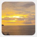 Puesta del sol 2 Costa Rica Colcomania Cuadrada