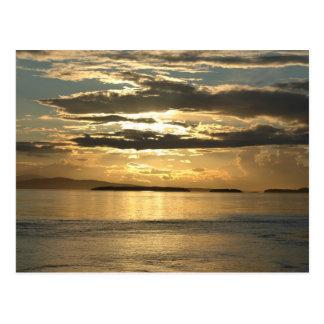 Puesta del sol 2 de San Juan Postales