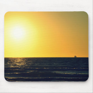 Puesta del sol 2 de Venecia Alfombrilla De Ratones