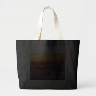 Puesta del sol anaranjada bolsas