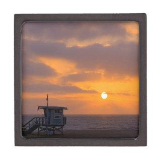 Puesta del sol Baywatch Cajas De Joyas De Calidad