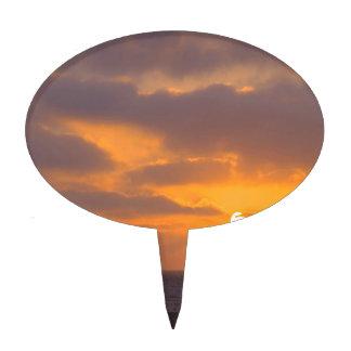 Puesta del sol Baywatch Decoración Para Tarta