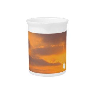 Puesta del sol Baywatch Jarra Para Bebida