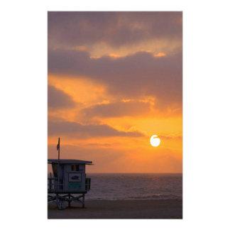 Puesta del sol Baywatch Papeleria