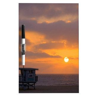 Puesta del sol Baywatch Pizarras
