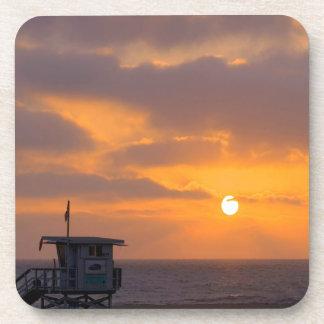 Puesta del sol Baywatch Posavasos