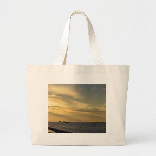 Puesta del sol bolsa