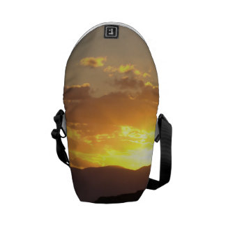 Puesta del sol bolsas messenger