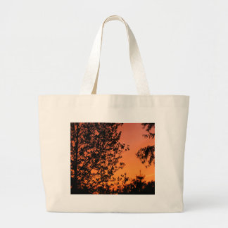 Puesta del sol bonita bolsa