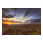 Puesta del sol, borde del sur del Gran Cañón, magn Fotografía