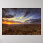 Puesta del sol, borde del sur del Gran Cañón, magn Póster