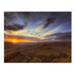 Puesta del sol, borde del sur del Gran Cañón, Postal