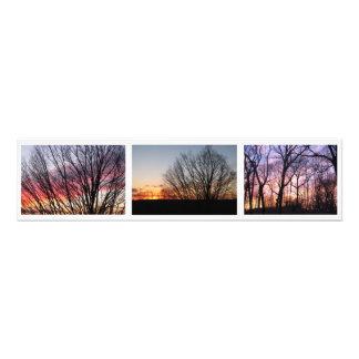 """Puesta del sol, Boston de la calle de Corey,"""" foto"""