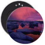 Puesta del sol Canadá de la Bahía de Hudson Pin
