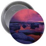Puesta del sol Canadá de la Bahía de Hudson Pins