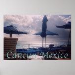 Puesta del sol Cancun México Impresiones