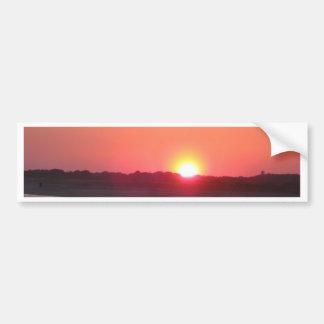 Puesta del sol * Cape May, New Jersey Pegatina Para Auto