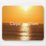 Puesta del sol, Carpe Diem - modificado para requi Tapete De Ratón