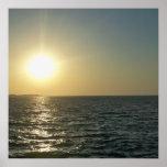 Puesta del sol chipriota posters