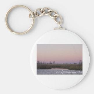 Puesta del sol de Apalachicola Llaveros Personalizados