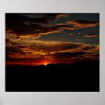 Puesta del sol de Arizona Posters