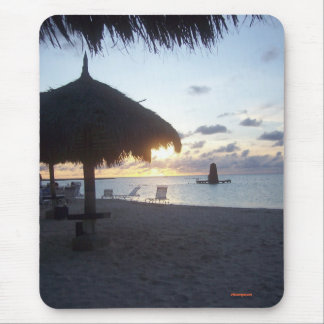 Puesta del sol de Aruba, 2006 Mouse Pads