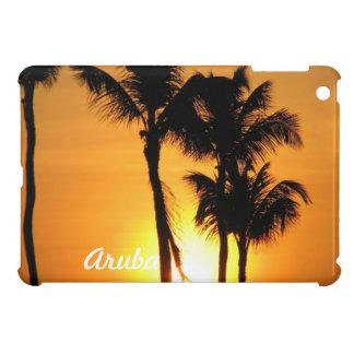 Puesta del sol de Aruba iPad Mini Cárcasa