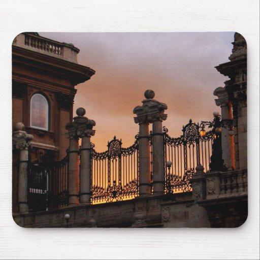 Puesta del sol de Budapest Alfombrilla De Raton