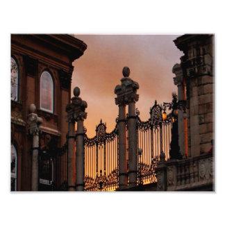 Puesta del sol de Budapest Impresiones Fotograficas