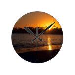 Puesta del sol de California Reloj
