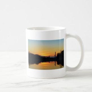 Puesta del sol de Capitol Hill Tazas De Café