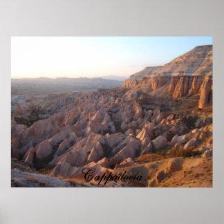 Puesta del sol de Cappadocia Posters