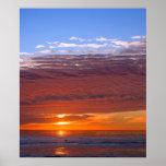 Puesta del sol de Carlsbad Impresiones