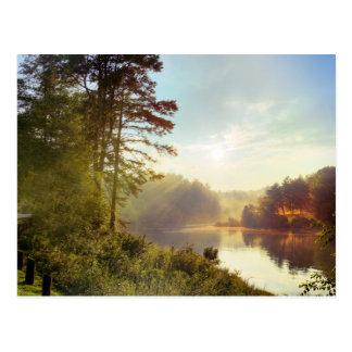 Puesta del sol de Carolina del Norte Postales