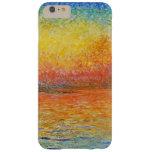 Puesta del sol de Claude Monet en Venecia Funda De iPhone 6 Plus Barely There