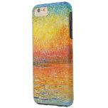 Puesta del sol de Claude Monet en Venecia Funda De iPhone 6 Plus Tough
