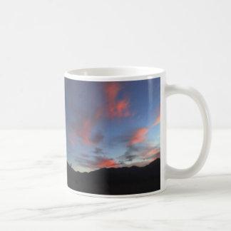 Puesta del sol de Flowist Tazas De Café