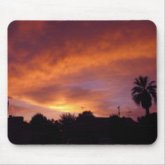 Puesta del sol de Granada Alfombrilla De Ratones