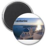 Puesta del sol de Grecia Santorini (St.K) Imán Para Frigorífico