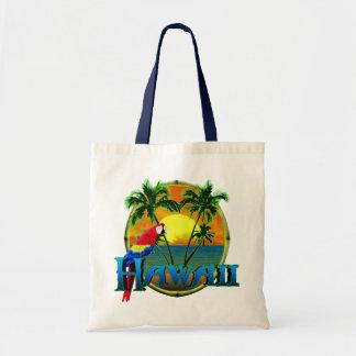 Puesta del sol de Hawaii Bolsa Tela Barata