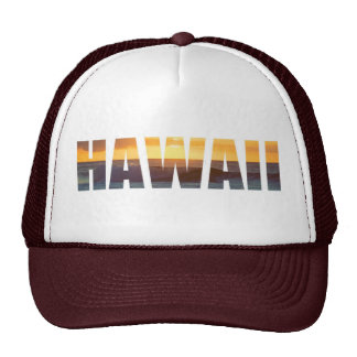 Puesta del sol de Hawaii Gorra