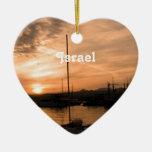 Puesta del sol de Israel Adornos