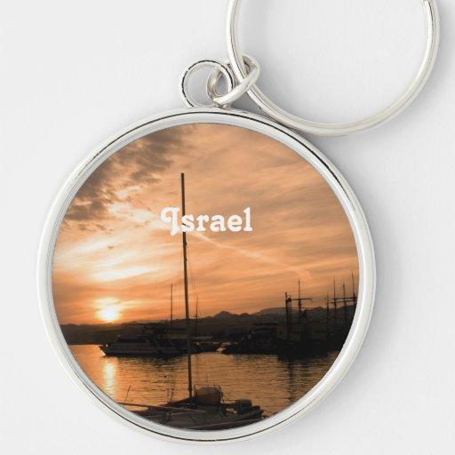 Puesta del sol de Israel Llaveros