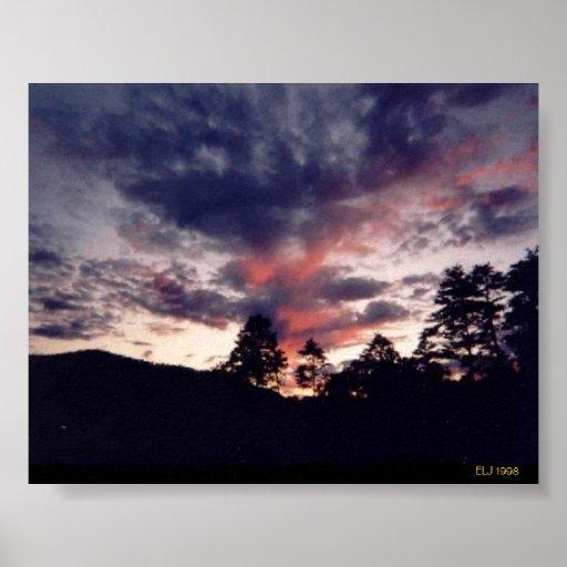 Puesta del sol de Kentucky Impresiones