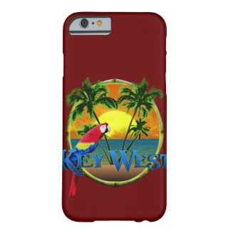 Puesta del sol de Key West Funda De iPhone 6 Barely There