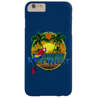 Puesta del sol de Key West Funda De iPhone 6 Plus Barely There